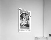 1985 Boston Red Sox Retro Poster  Acrylic Print