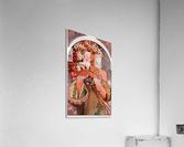 Flowers by Alphonse Mucha  Acrylic Print