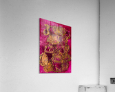 JARS - Original Abstract Acrylic Paint Printed on Canvas by: Rebecca Mangalindan  Acrylic Print