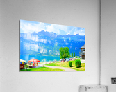 Snapshot in Time Walensee - Lake Walen Switzerland 1 of 3  Acrylic Print