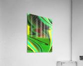 Brickabrack  Acrylic Print