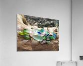 Sea Glass Colors  Acrylic Print