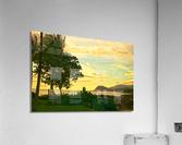 Sunset over the Bay Oahu Hawaii  Acrylic Print