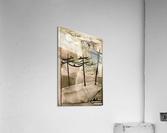 Telephone Pole Perches  Acrylic Print