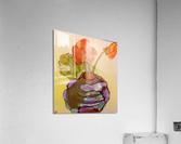 Orange Nasturiums  Acrylic Print