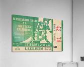 1936 Washington State Cougars vs. USC Trojans  Acrylic Print