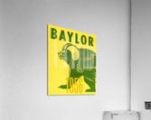 1956 Baylor Bears Vintage Football Art Remix  Acrylic Print