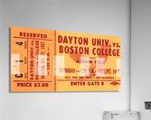 1957 Dayton Flyers vs. Boston College Eagles  Acrylic Print