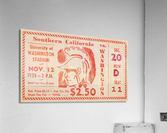1938 USC Trojans vs. Washington Huskies  Acrylic Print