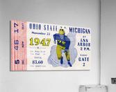 1947 Michigan Wolverines vs. Ohio State Buckeyes  Acrylic Print