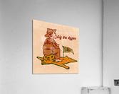 Vintage Fifties Texas A&M vs. Baylor Cartoon Art  Acrylic Print