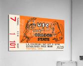 1970 USC Trojans vs. Oregon State Beavers  Acrylic Print