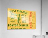 1942 Boston College Eagles vs. West Virginia Mountaineers  Acrylic Print