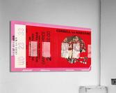 1981 Cornell Big Red vs. Harvard Crimson  Acrylic Print