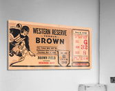 1948 Western Reserve Red Cats vs. Brown Bears  Acrylic Print
