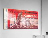 1932 Wisconsin Badgers vs. Chicago Maroons  Acrylic Print