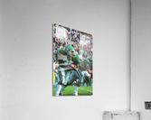 1987 Ohio Bobcats Retro Football Poster  Acrylic Print