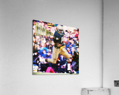 Retro Notre Dame Tim Brown Football Art  Acrylic Print