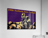 1986 Northern Iowa Panthers Football Poster  Acrylic Print