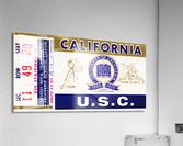 1967 California Bears vs. USC Trojans  Acrylic Print