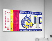 1951 California Bears vs. Washington Huskies  Acrylic Print
