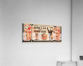 1946 Colorado College Tigers  vs. Colorado A&M Aggies  Acrylic Print