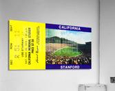 1974 California Bears vs. Stanford Cardinal  Acrylic Print