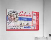 1962 Columbia Lions vs. Lehigh Engineers  Acrylic Print