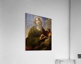 Saint John the Evangelist Writing the Book of Revelation  Acrylic Print
