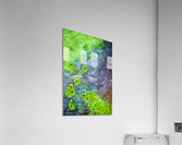 Green Paint Drops_120828_17039 HXSYV  Acrylic Print