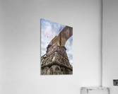 Relief on fortification wall; Thessaloniki, Greece  Acrylic Print