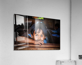 Deep dark eyes  Acrylic Print