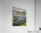 Tegern Sea landscape by August Macke  Acrylic Print