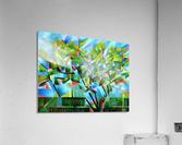 Cubistic Spring at Voorburg - 05-05-16  Acrylic Print