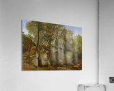 View in the Park of the Villa Chigi at Ariccia  Acrylic Print