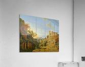De golf van Napels met op de achtergrond het eiland Ischia  Acrylic Print