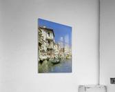 In the gondola  Acrylic Print