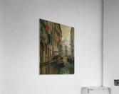 A quiet canal  Impression acrylique