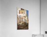 Young girl on Capri  Acrylic Print