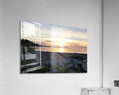 Walking in Light  Acrylic Print