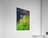 The Green Wall  Acrylic Print