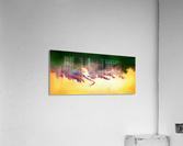Obadiani V1 - digital abstract  Acrylic Print