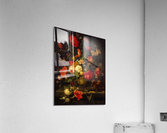 Flowers and small animals  Acrylic Print