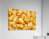 Dry pasta background   Acrylic Print