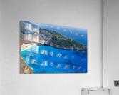 Navagio beach with shipwreck on Zakynthos island in Greece  Acrylic Print