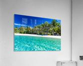 Amazing beach in Maldives, summer travel  Acrylic Print