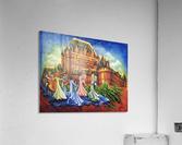 Jour de bal au Château  Acrylic Print
