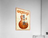 Orange vintage advertising poster  Acrylic Print