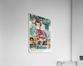 Original Vintage Surfing Movie Poster - Ride The Wild Surf  Acrylic Print
