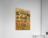 Vintage Olympics poster  Acrylic Print